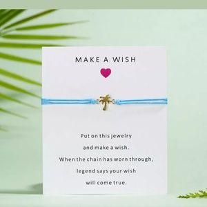 Make A Wish Coconut Tree Bracelet